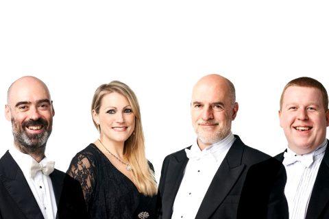 RSNO Principal musicians Adrian Wilson, Katherine Bryan, David Hubbard, and Christopher Hart