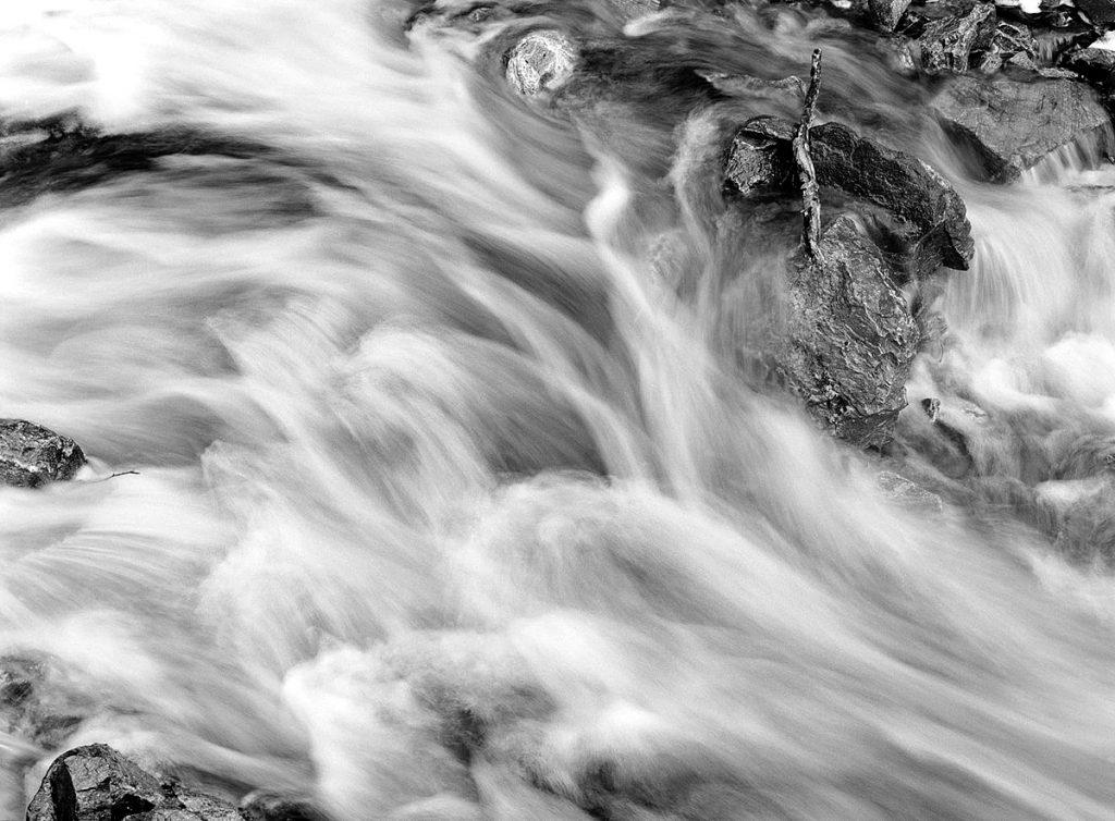 Stuart Franklin, 'Waterfall Over Holsvatnet ii'