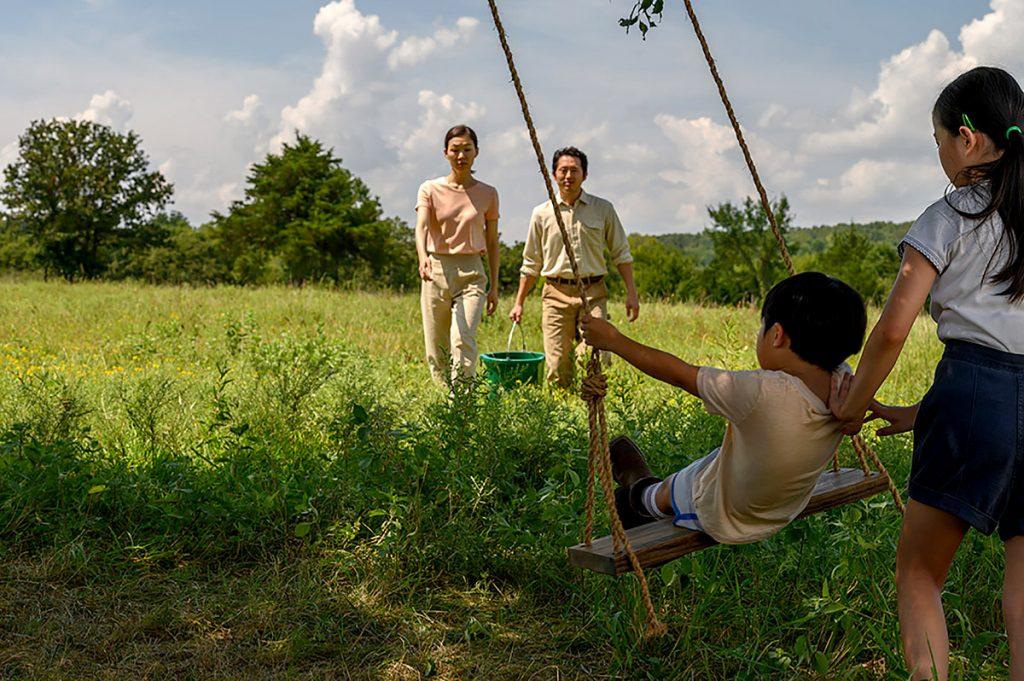 'Minari', Director Lee Isaac Chung. Image: Melissa Lukenbaugh/A24