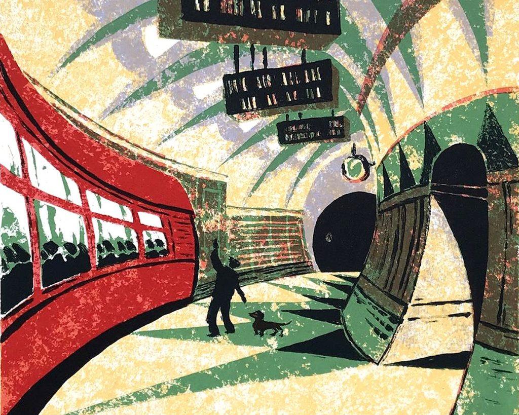 Mychael Barratt, 'Cyril Power's Dog', screenprint