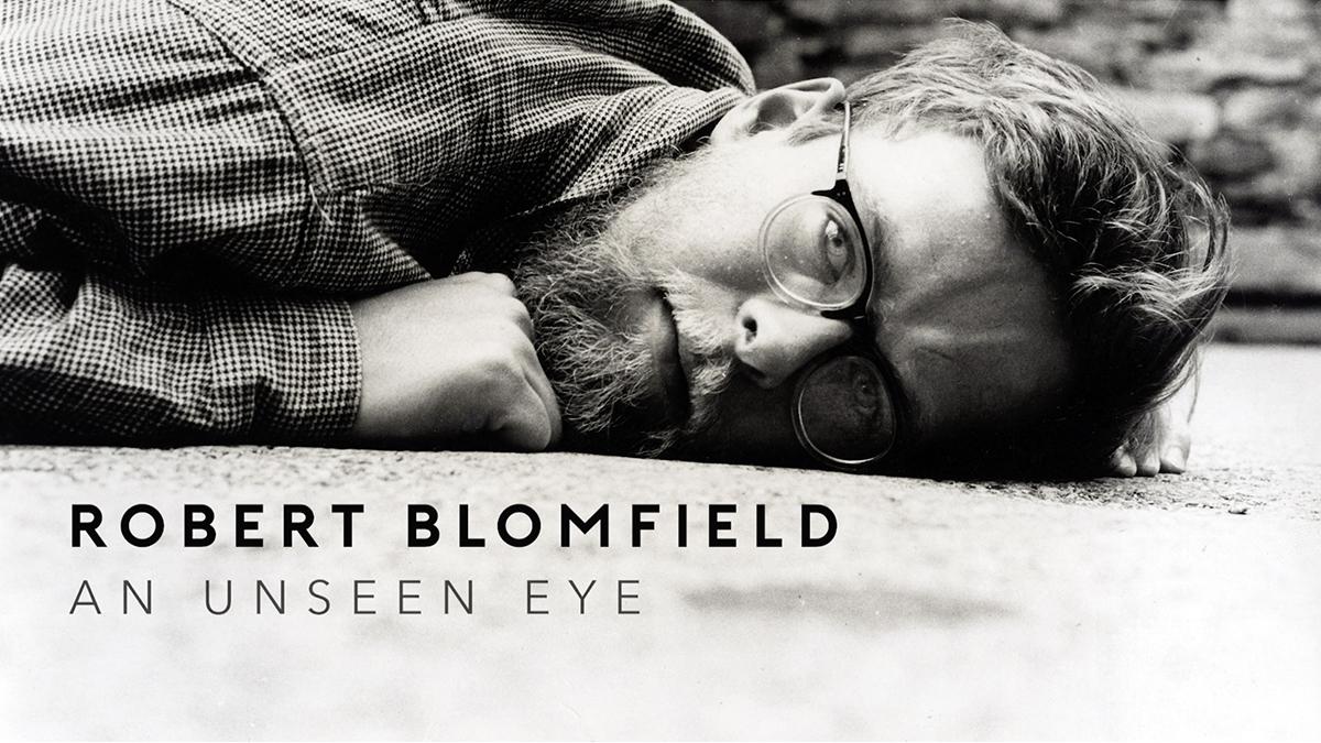 'Robert Blomfield, An Unseen Eye Film by Stuart Edwards', photograph