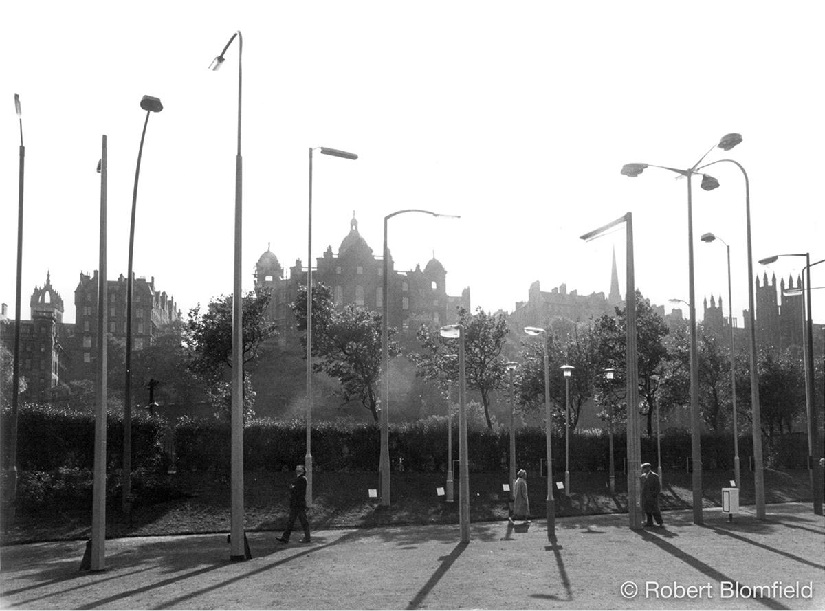 Robert Blomfield, 'Lamp Post Exhibition', photograph