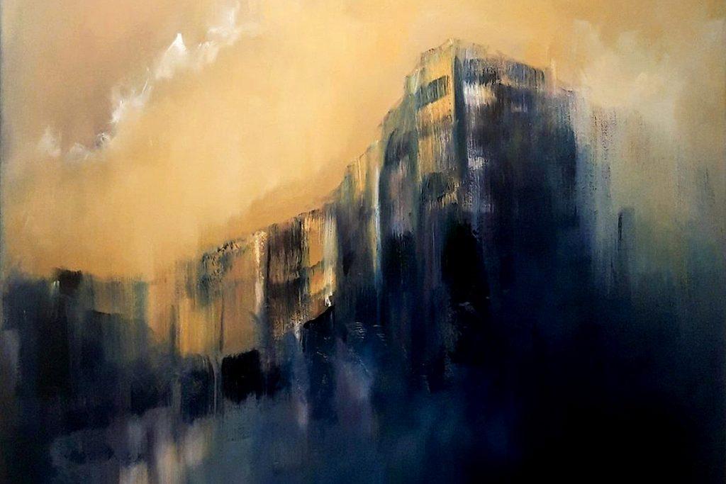 Antony Clarkson, 'Deja vu too', oil on canvas