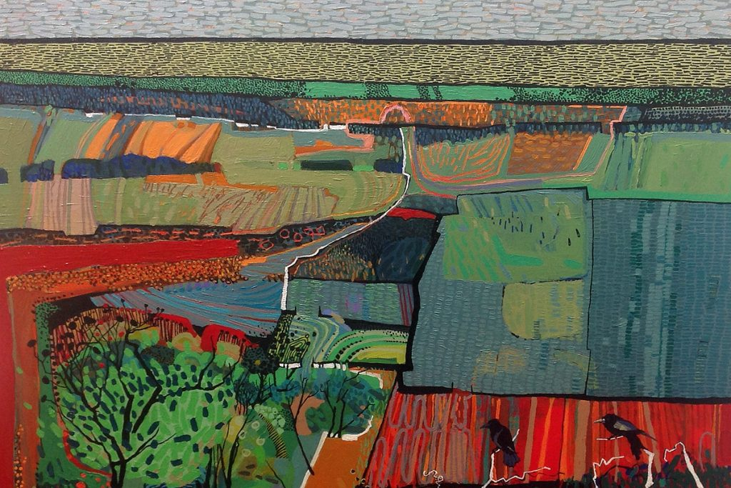 Carol Dewart, 'Bird's Eye View', detail
