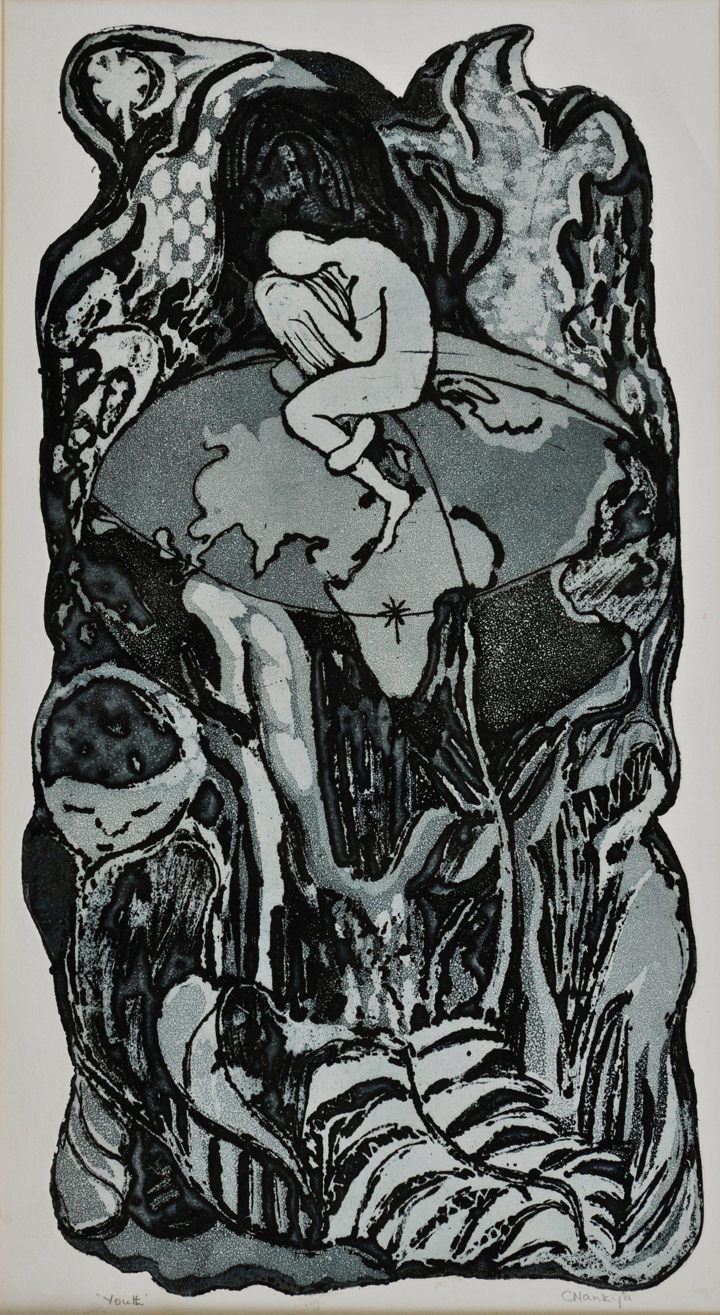 Catherine Nankya Katonoko Gombe, 'Youth', 1965
