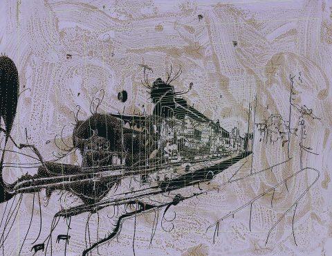 Graeme Todd, 'Deadhead', print