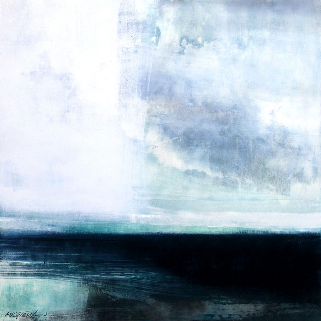 Helen Glassford, 'Dancing Light', oil on board