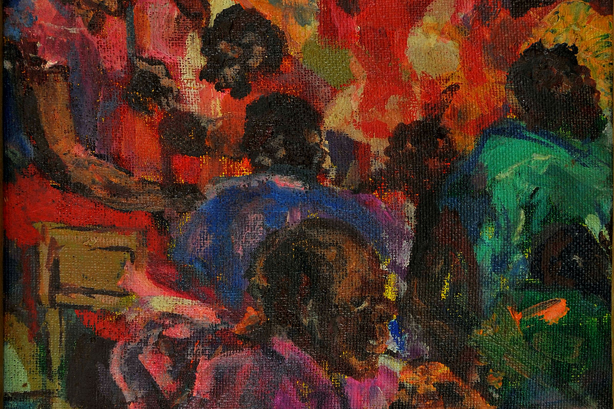 Henry Tayali, (title unknown), painting 1972
