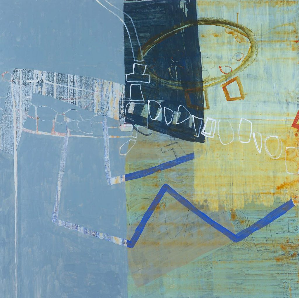 Joan Doerr, 'In the Mix', acrylic on canvas