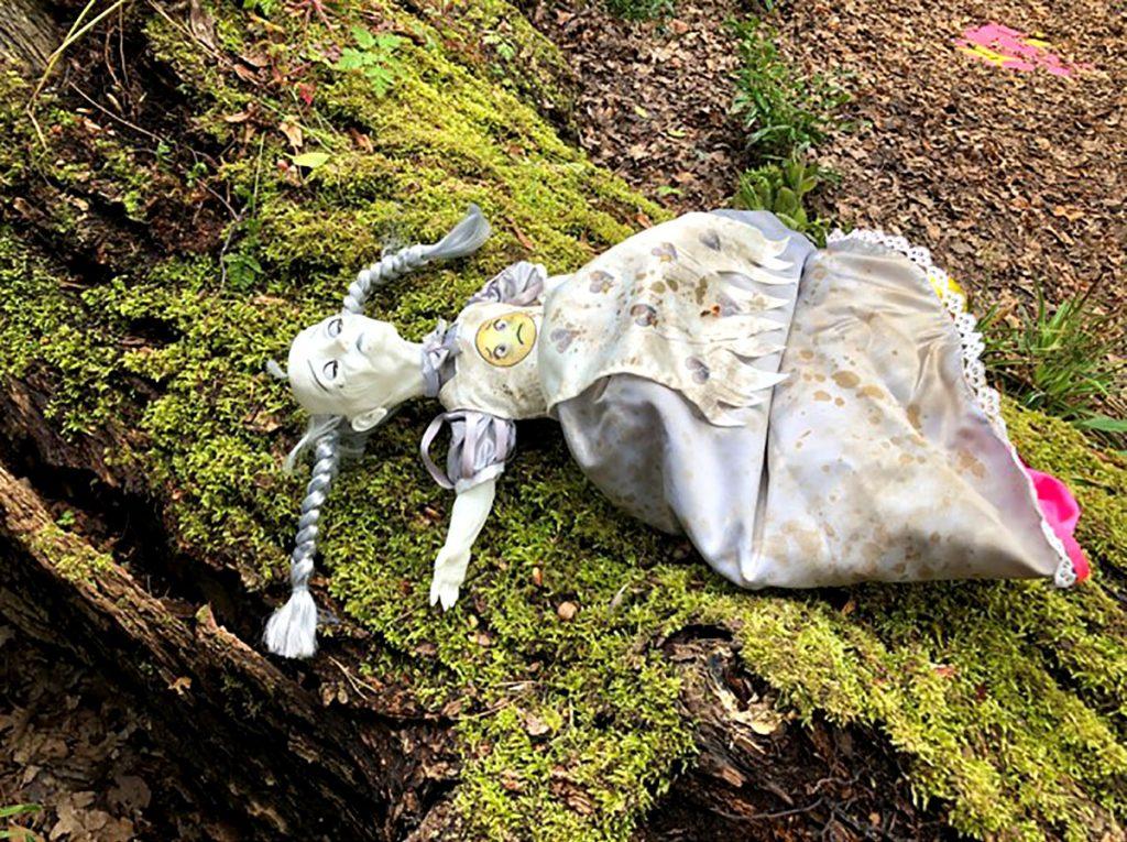 Upside-down Mimi doll