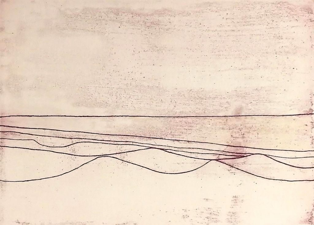 Wilhelmina Barns-Graham, 'Six Lines', etching