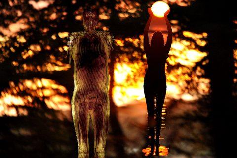 Aberdeen artist duo Bibo & Brian Keeley, 'Breathe'