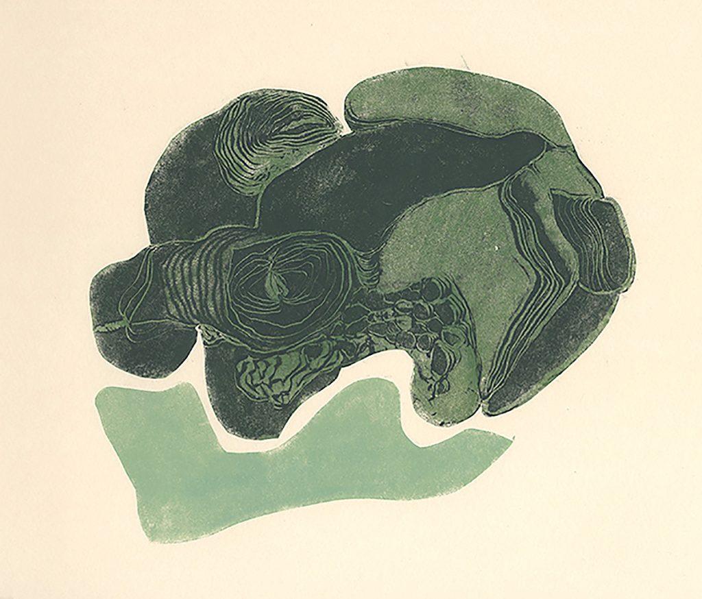 Hanne Lillee, 'Breeders X', monotype
