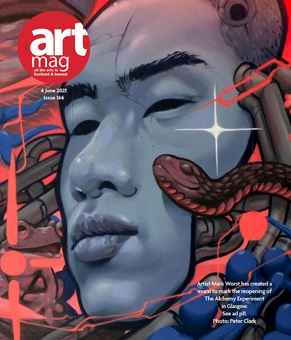 Artmag 166 Cover