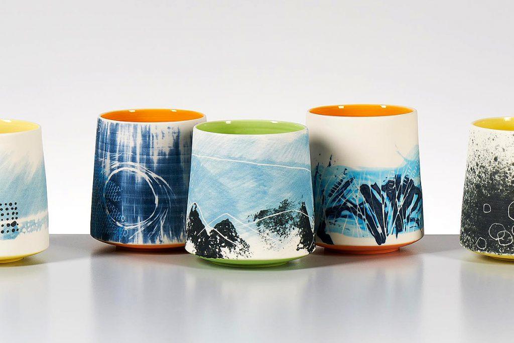 Ceramics by Juliet Macleod. Image Potfest Scotland