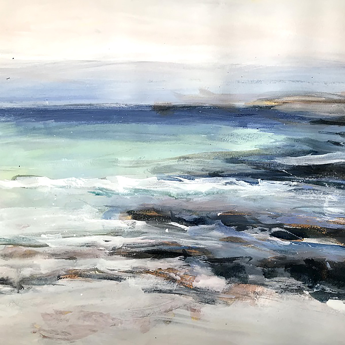Peter Morrison, 'Tide Sanna', mixed media