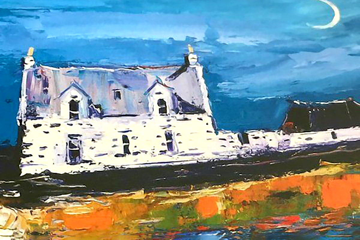 Jolomo, 'New Moon, Isle of Tiree'
