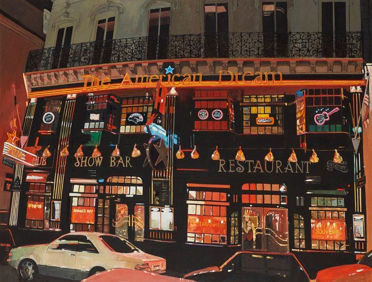 Alexandra Gardner, 'Evening In Paris', oil on canvas