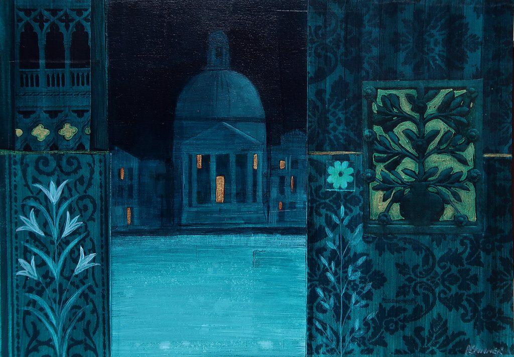 Anne Skinner, 'Midnight Venice Gold'