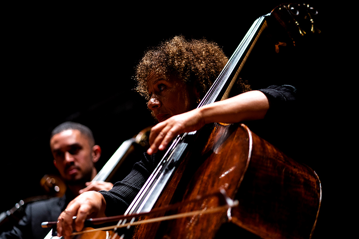 Chineke! Orchestra appears on 17th August, featuring Andrea Baker and conducted by William Eddins © Ntando Brown