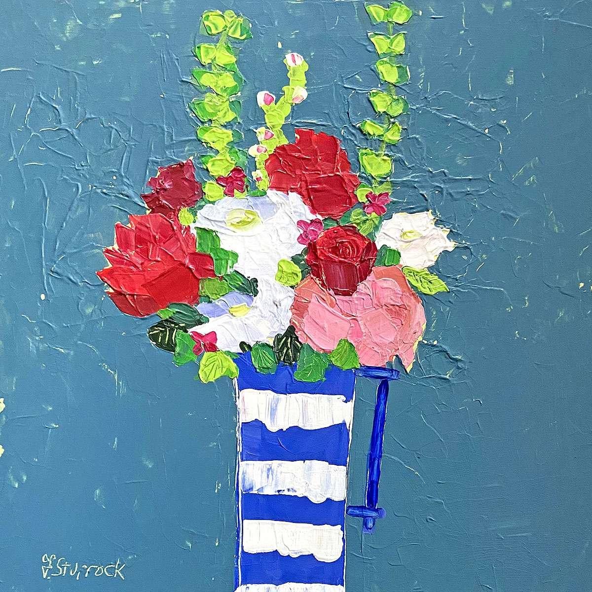 Fiona Sturrock, 'Flowers in Cornish Jug'
