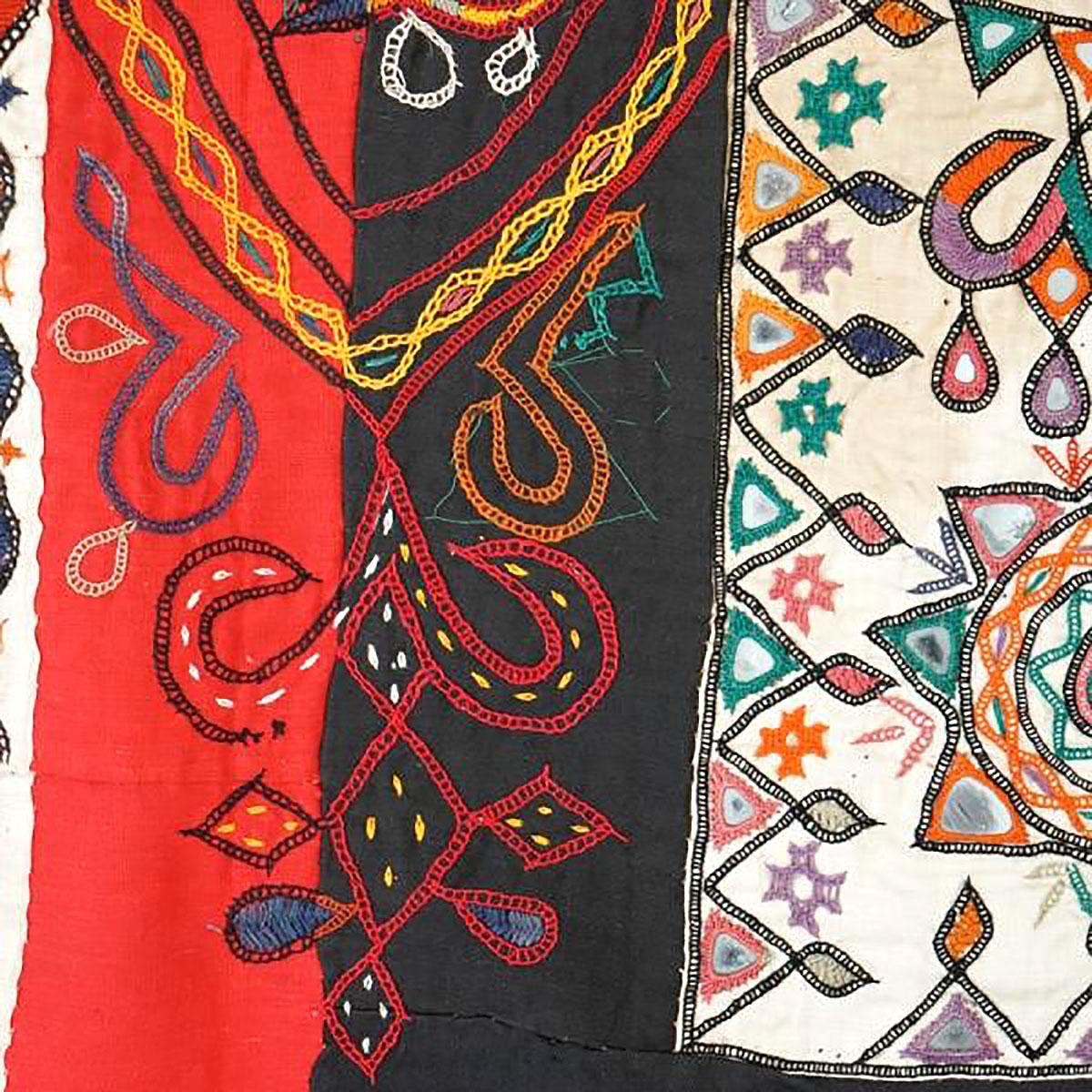 Kutch panel, close-up
