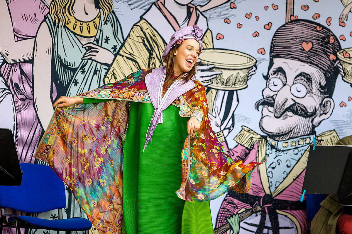 Stephanie Stanway in Pop-up Opera's Iolanthe, Photo: Paul Campbell