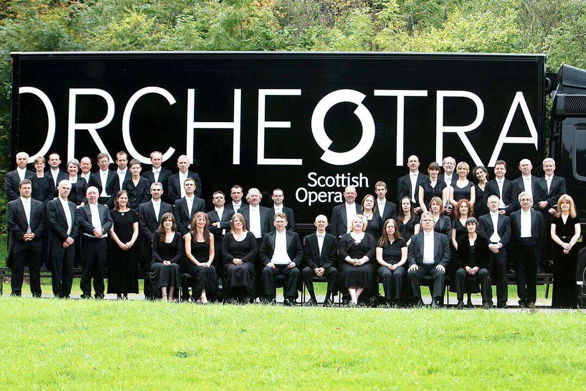 The Orchestra of Scottish Opera, Photo: Drew Farrell