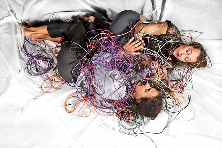 Paper Doll Militia's 'A Wire Apart', 6 - 29 Aug, with a meet-the-artist event 27th Aug, 8pm (free, ticketed)