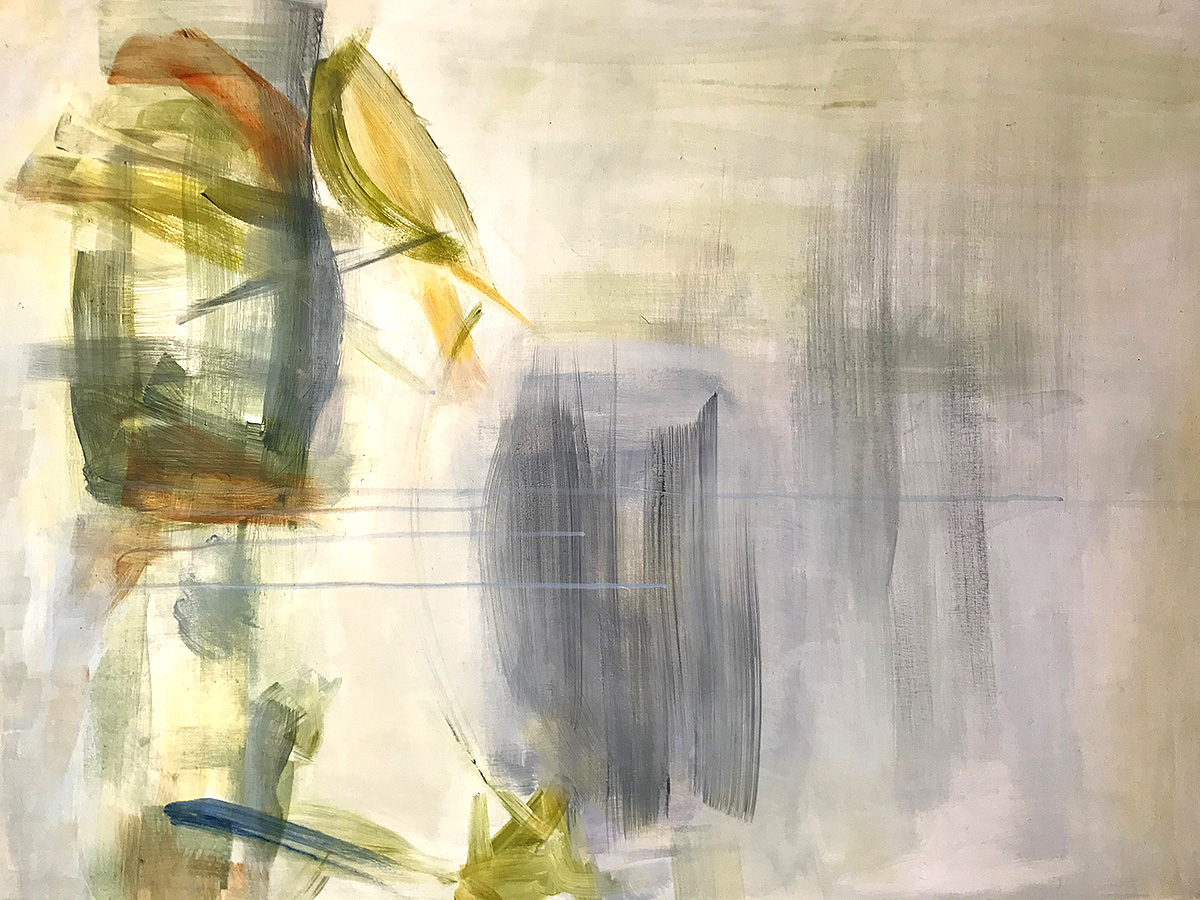 Catherine Young, 'Echoes', acrylic