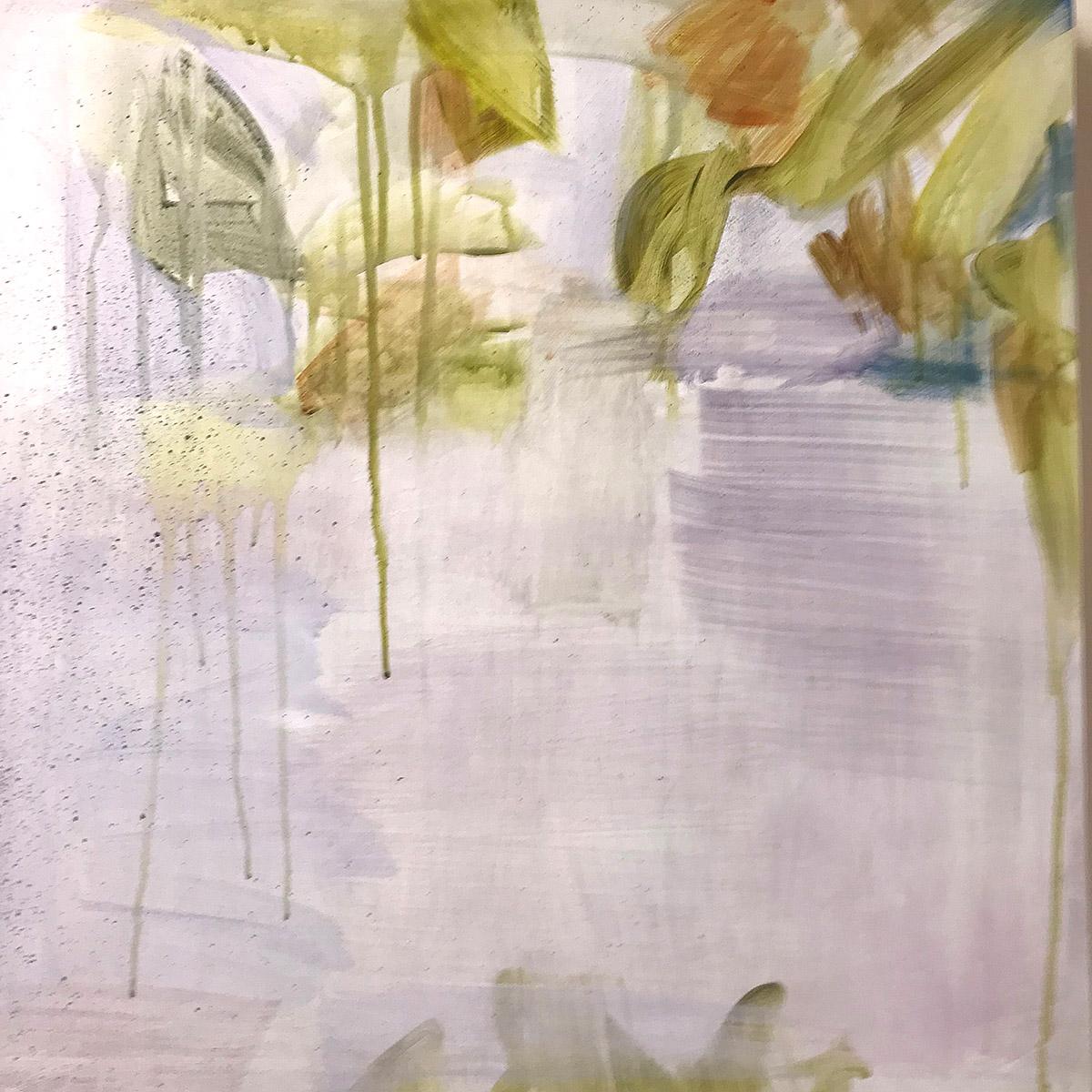 Catherine Young, 'Rain Branch', acrylic