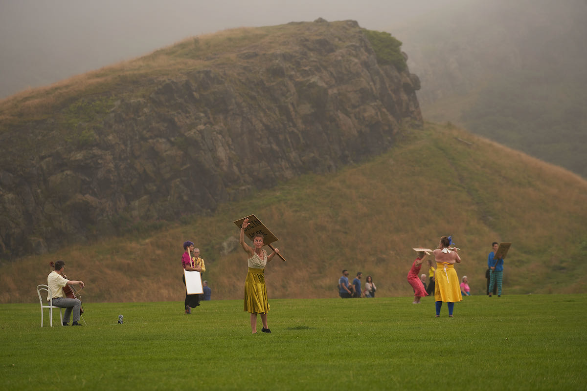 FIELD - SOMETHING FOR THE FUTURE NOW by Christine Devaney -image ©Matt Beech