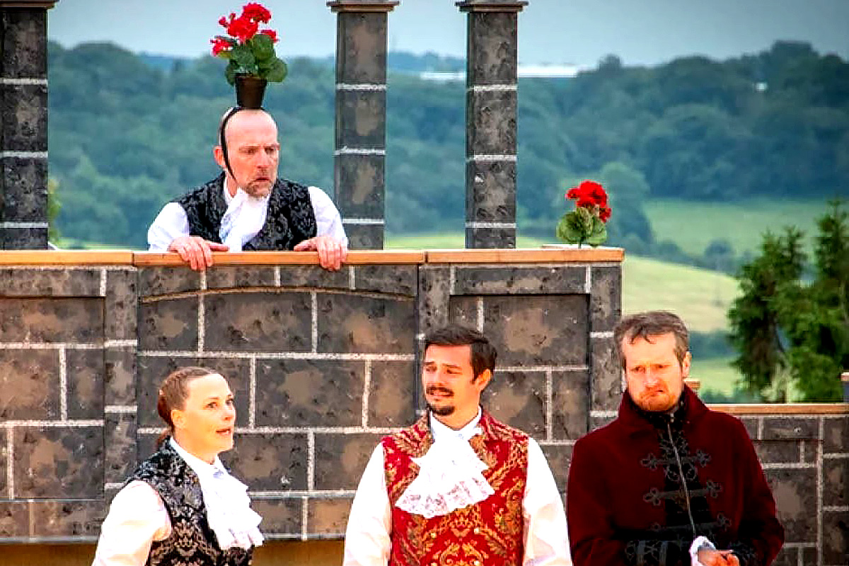 Illyria's production of Much Ado About Nothing
