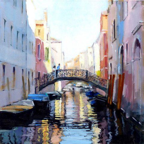 Jack Morrocco, 'Riello de Santa Sofia, Cannaregio, Venice', oil