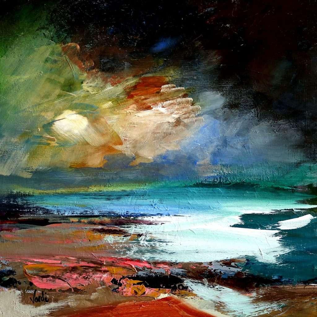 Arie Vardi, 'Storm brewing, Crarae'