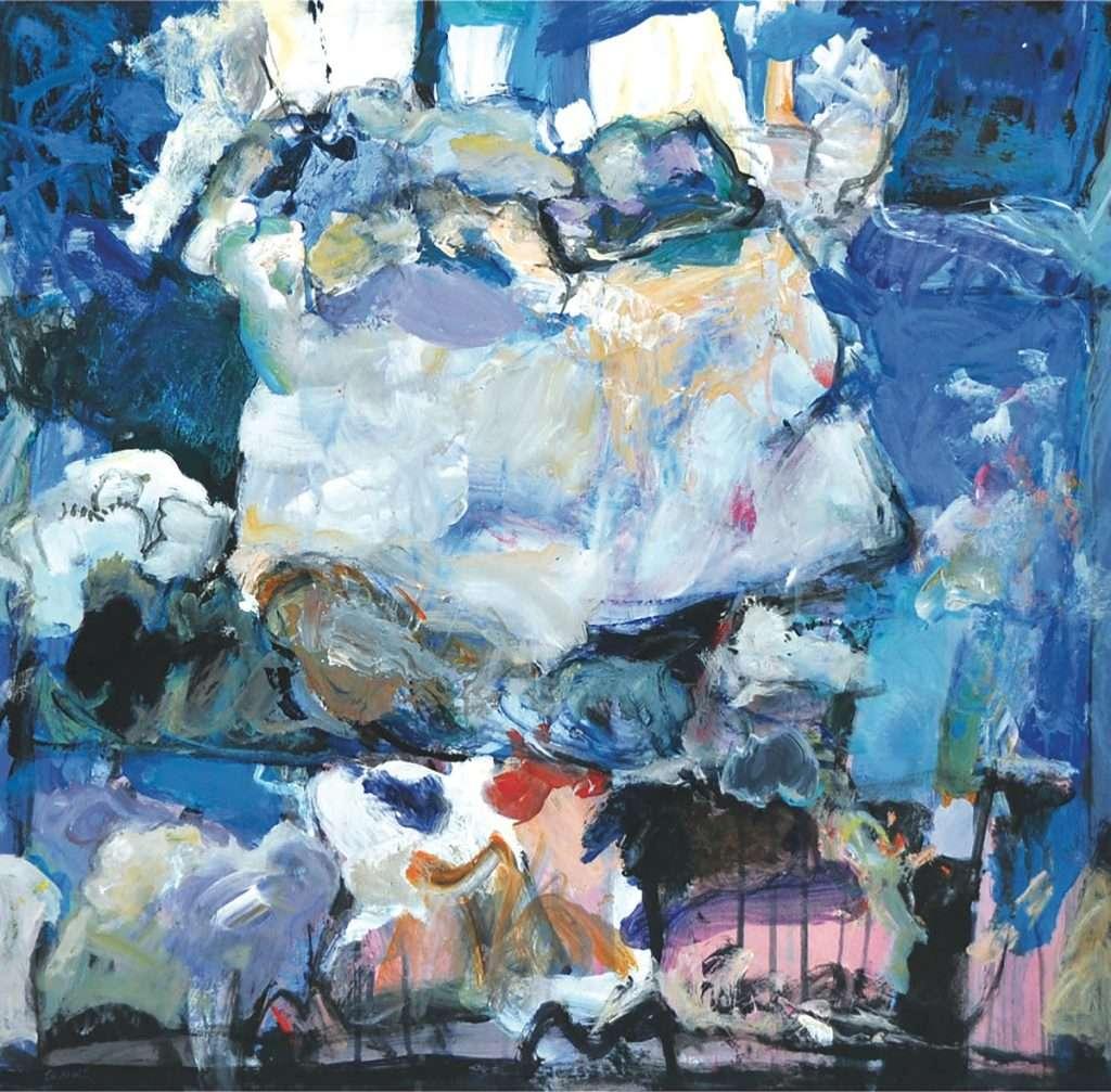 Duncan Shanks, 'Towering clouds'