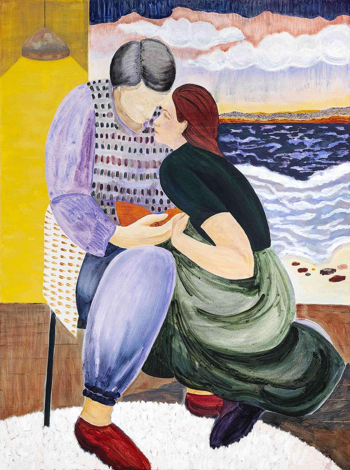 Freya Douglas-Morris, 'The Book of Love', oil on Canvas