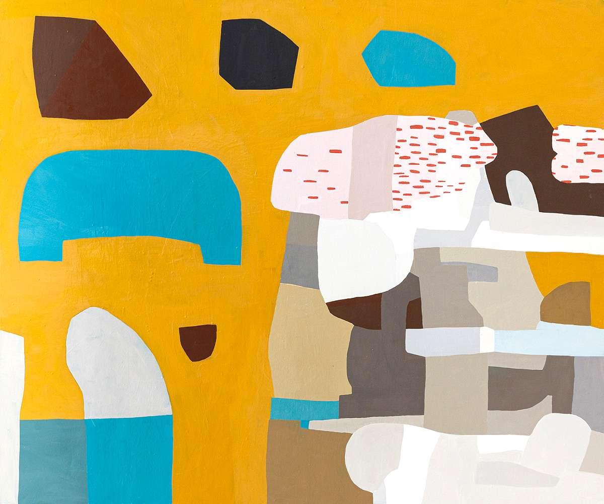 Jen Wink Hays, 'Samoset', oil on canvas