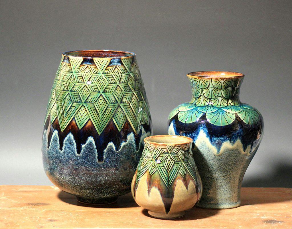 Vases by Laura Crosland
