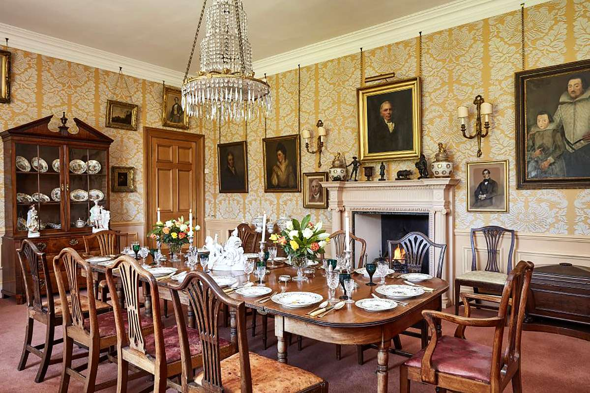 The Dining Room at Lowood House