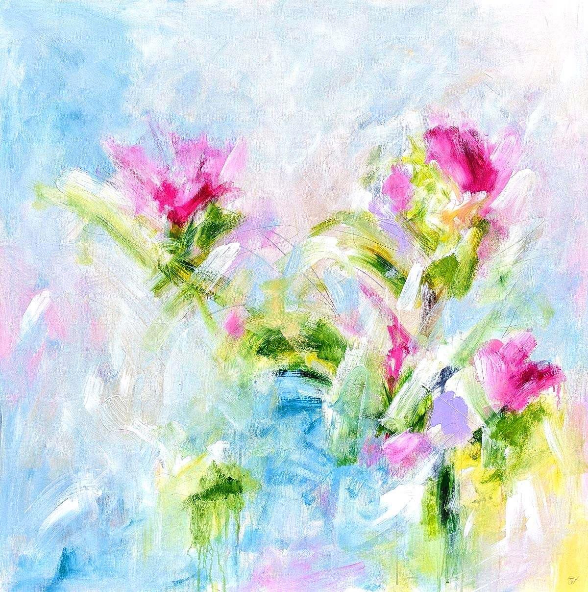 Shona Harcus, 'A Little Moment of Peace', acrylic on canvas