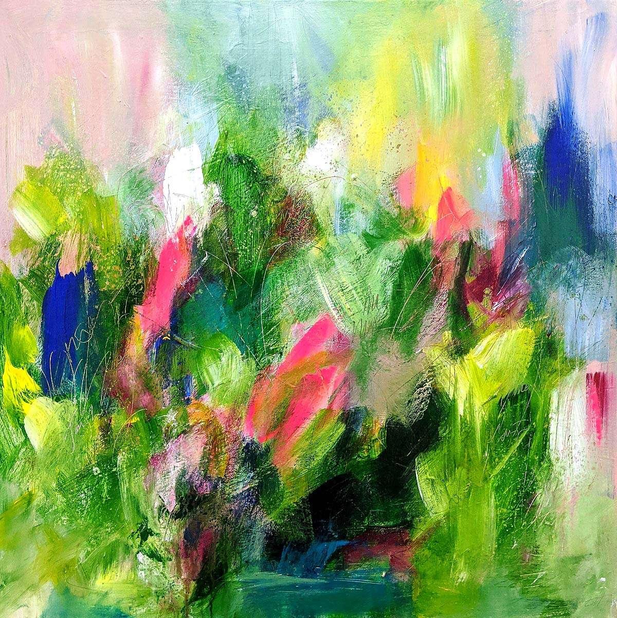 Shona Harcus, 'Jungling', acrylic on canvas
