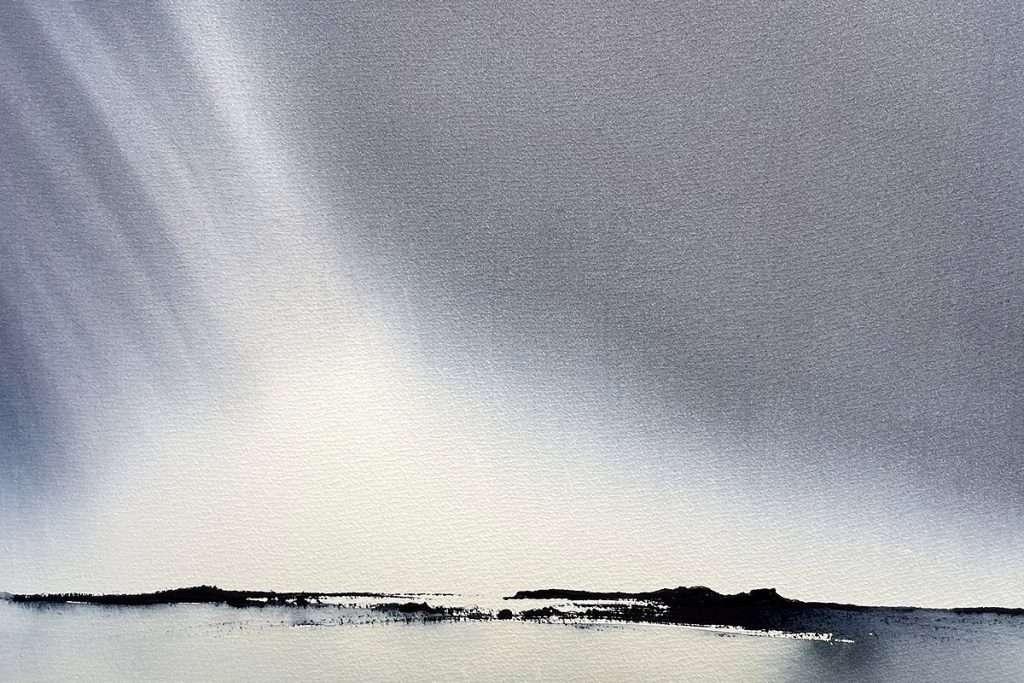 Stephen Redpath, 'Northern Light', watercolour