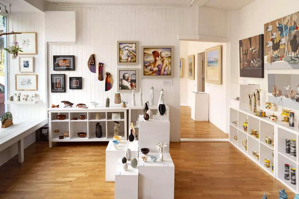 Tighnabruaich Gallery is on the West Route of Cowal Open Studios