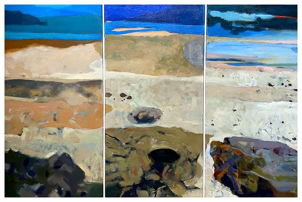 Gordon Slater, 'Towards the Sea', oil on canvas
