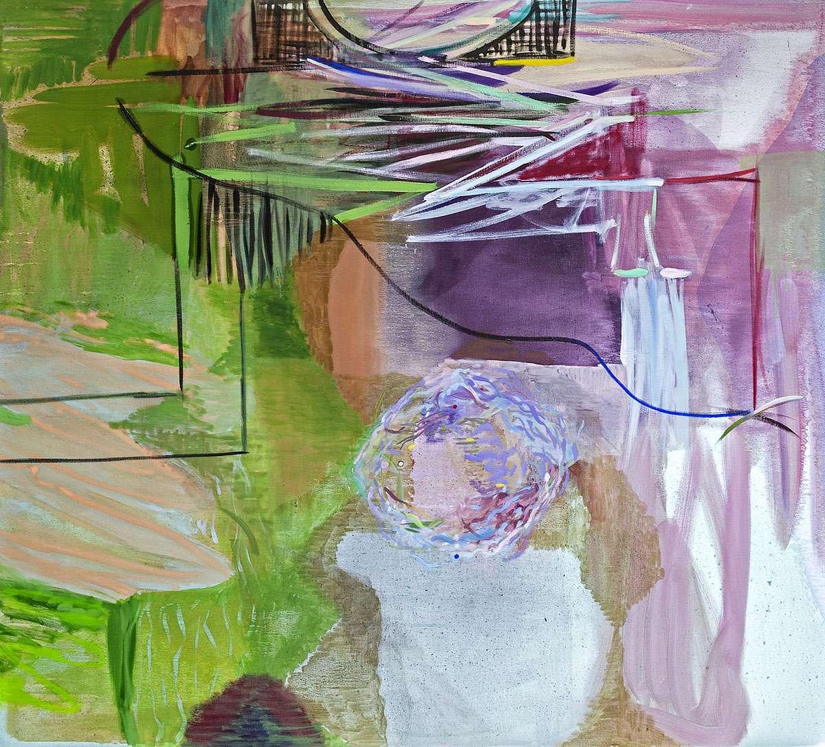 Victoria Morton, 'Bell Rock', oil on linen