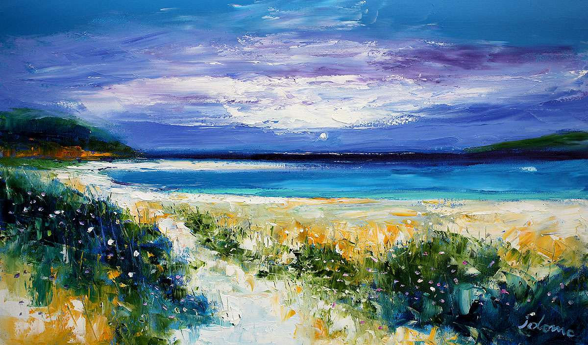 John Lowrie Morrison, 'Ardroil Beach, The Uig Sands, Isle of Lewis'