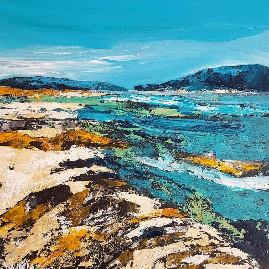 Morag Lloyds, 'Iona Dreaming', acrylic