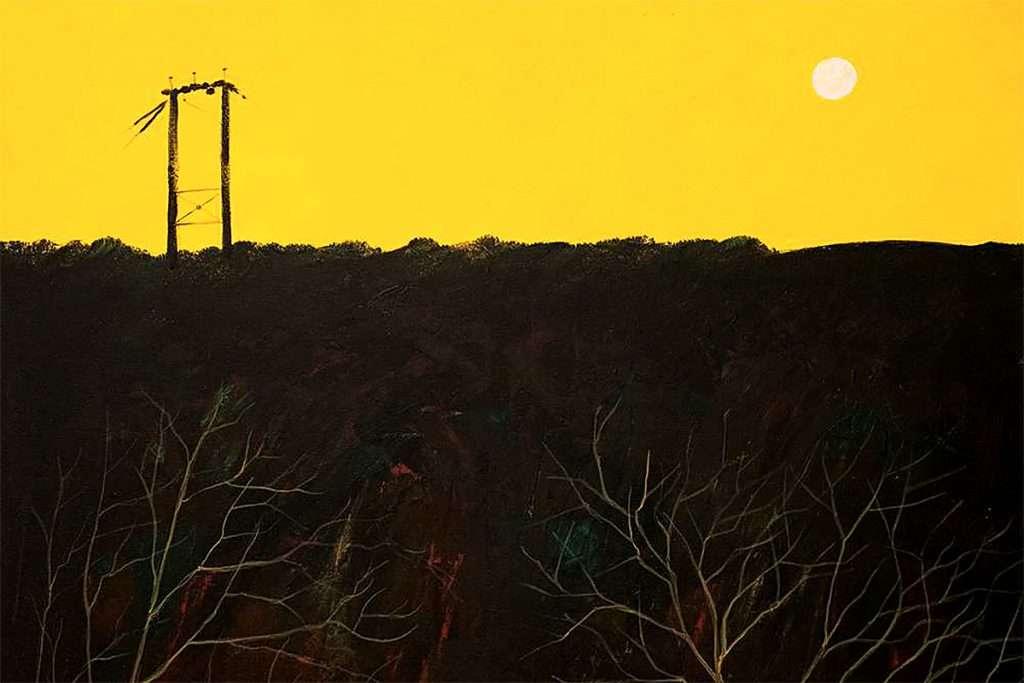 Colin Hay, 'The Old Pylon', acrylic on canvas