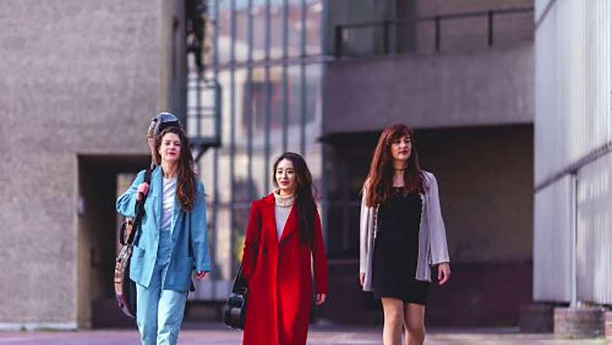 De Beauvoir Trio. Image Olivia Da Costa